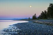 Moonrise, Vancouver Island