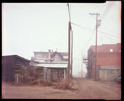 Back Alley, Nanton, Alberta  1983