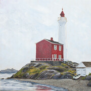 "Fisgard Light  16"" x16""  (acrylic)"