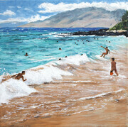 Little Makena  (acrylic)  SOLD