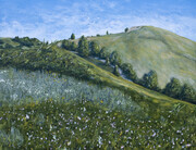 Nose Hill  (acrylic)  SOLD
